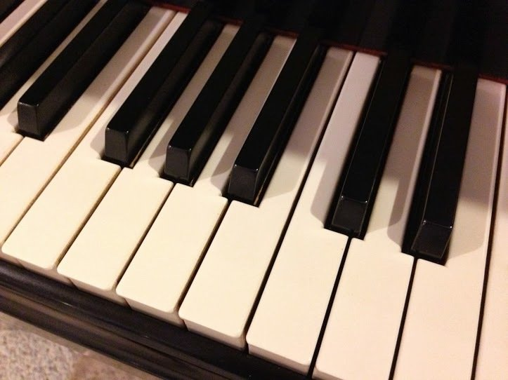 The Plastic Keys of a Piano