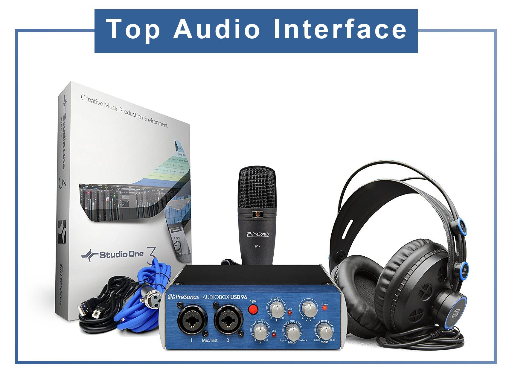 Top Audio Interface