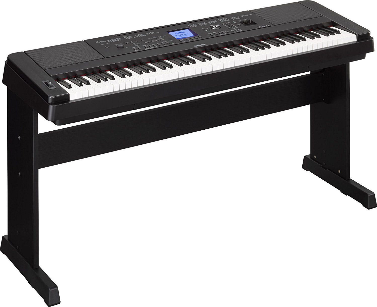 Yamaha DGX-660 88-Key Weighted Action Digital Grand Piano Premium with Matching Stand