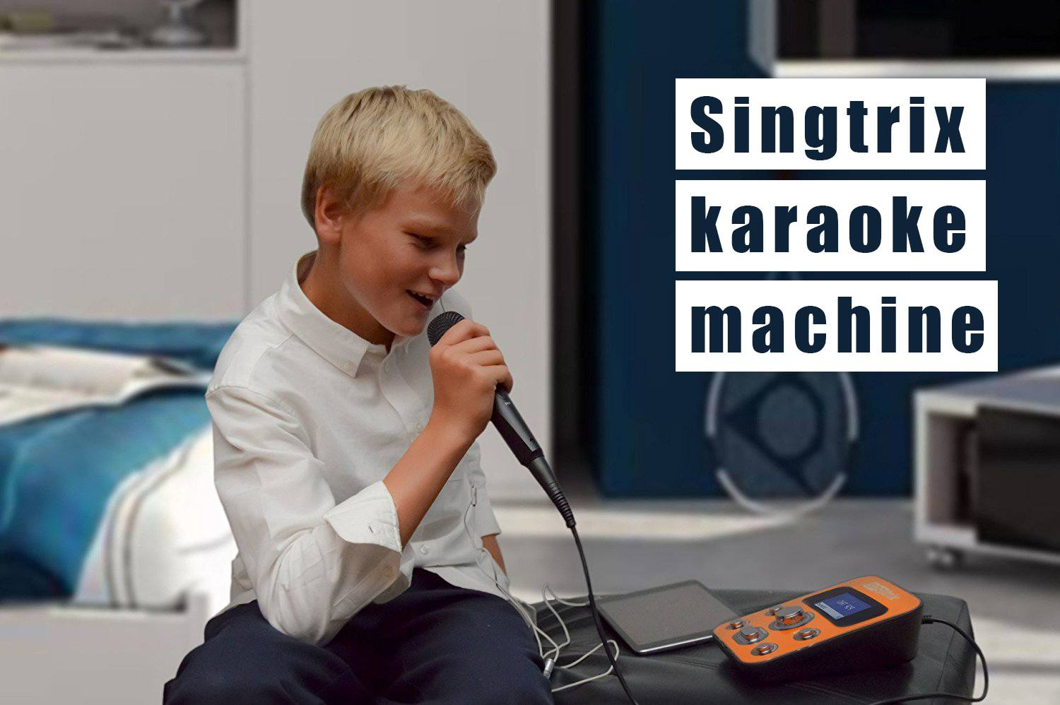 singtrix karaoke machine