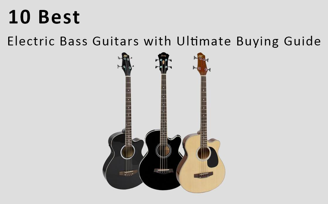 Best Electric Bass Guitars with Ultimate Buying Guide