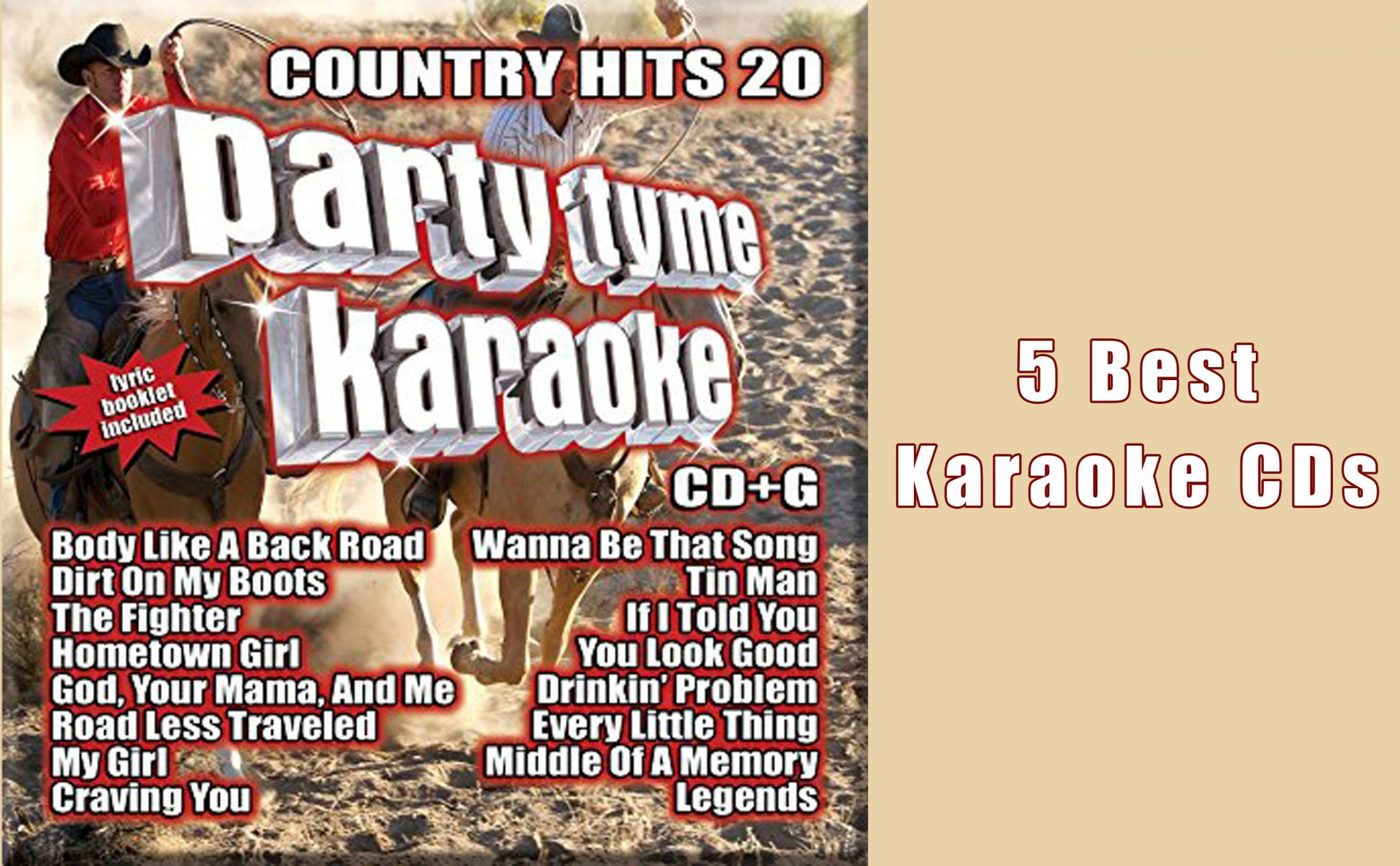 Top 5 Best Karaoke CDs You Will Like - Karaoke Bananza