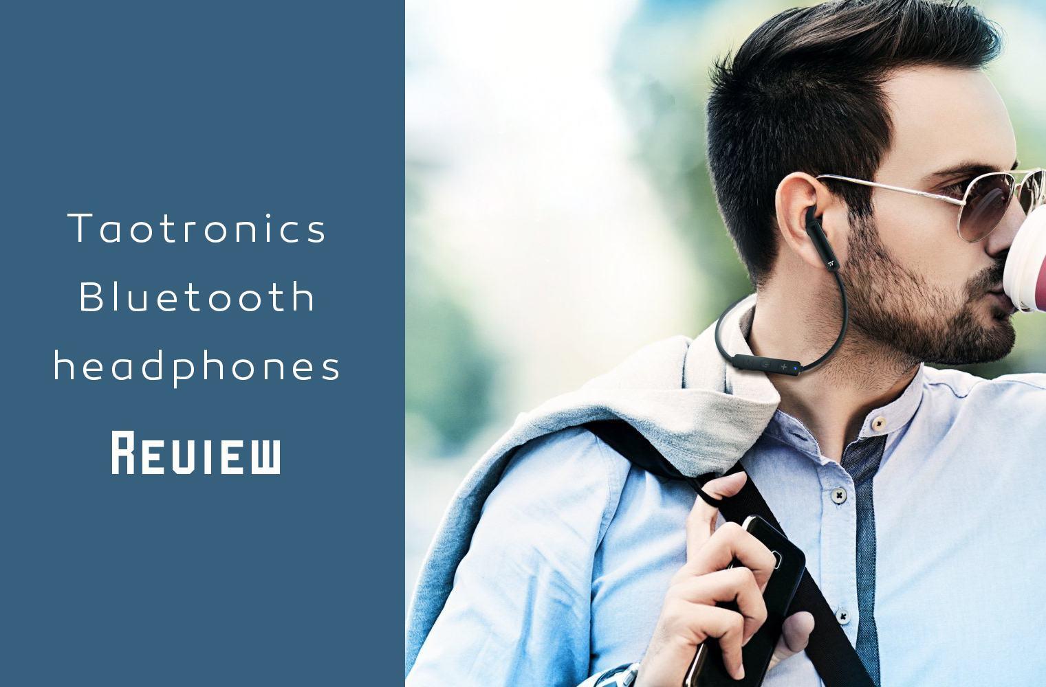 Taotronics Bluetooth headphones