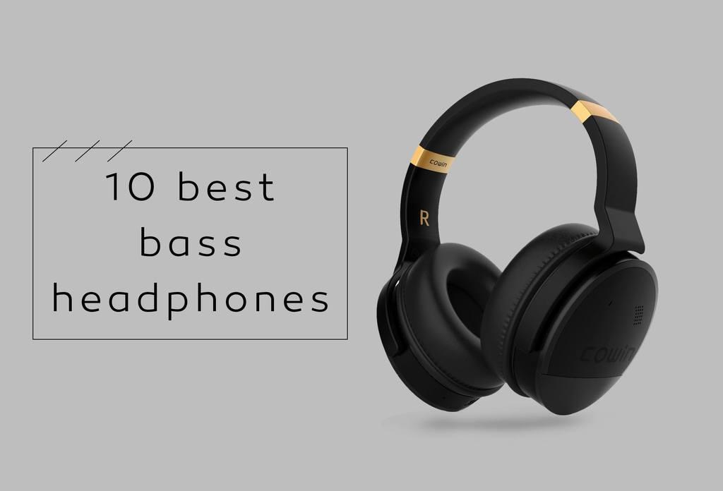 10 Best Bass Headphones in 2019 - Karaoke Bananza