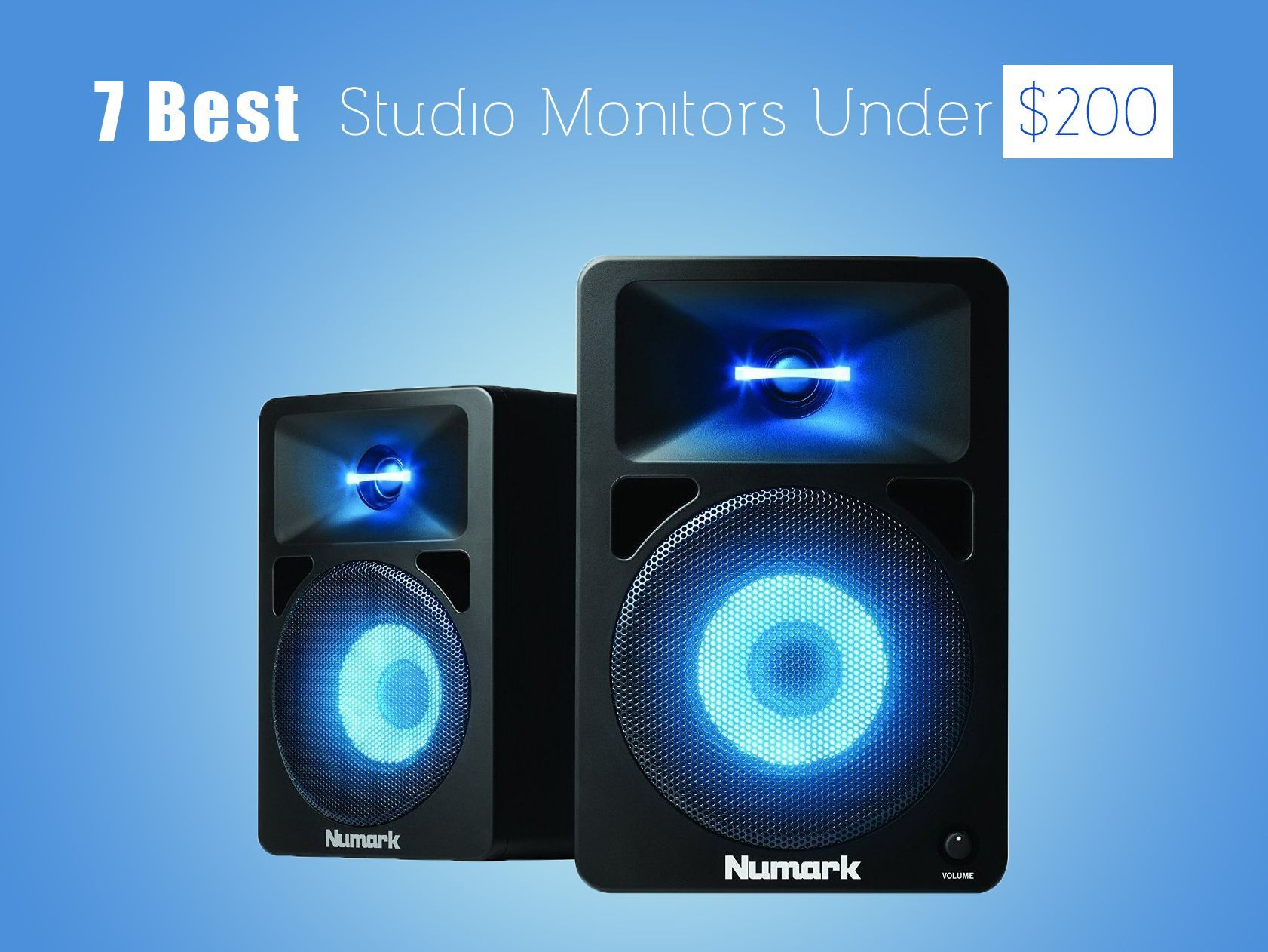 Best Studio Monitors in 2018