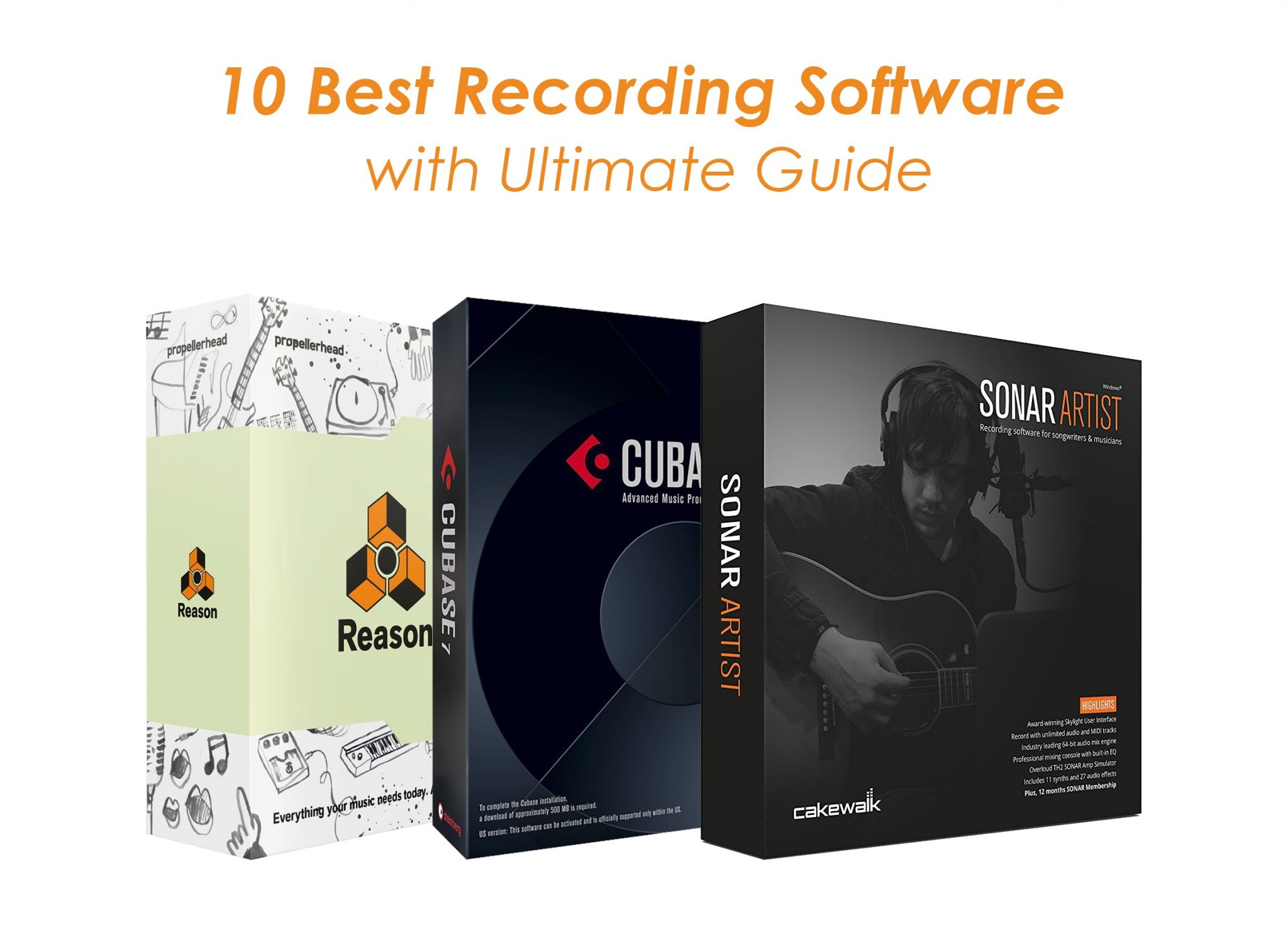10 best recording software to record music on windows. Black Bedroom Furniture Sets. Home Design Ideas