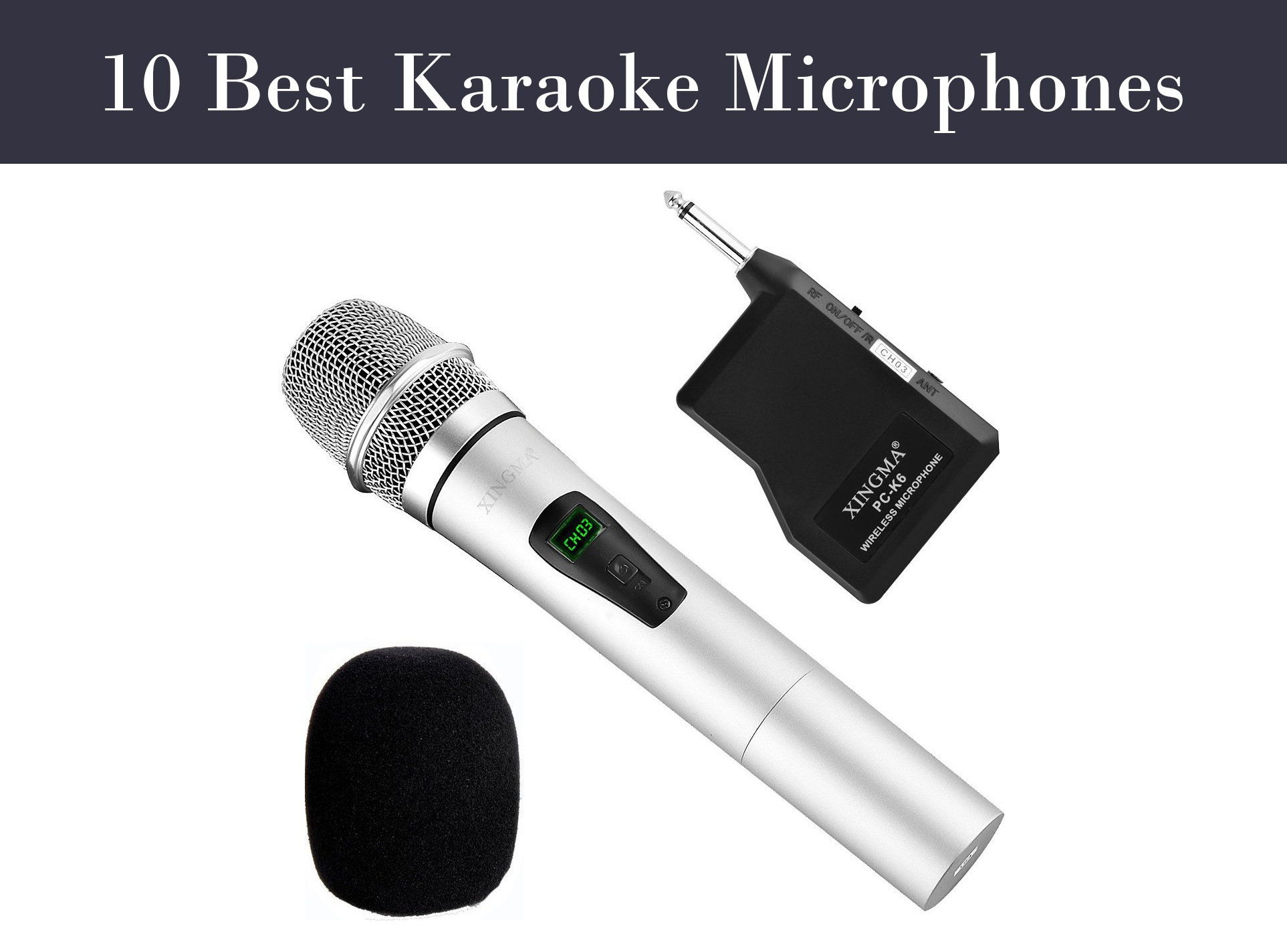 10 Best Karaoke Microphones to Buy (2019) - Karaoke Bananza