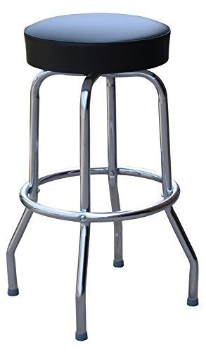 Budget Bar Stools 0-1930BLK24 Professional best Guitar Stage Stool