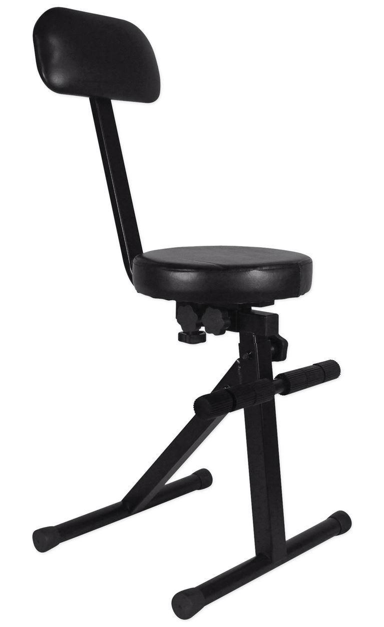 5. Rockville RDS40 Portable Adjustable best Guitar Chair