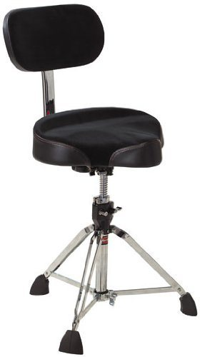 Gibraltar 9608MB Large Cordura best Guitar Stool with Backrest