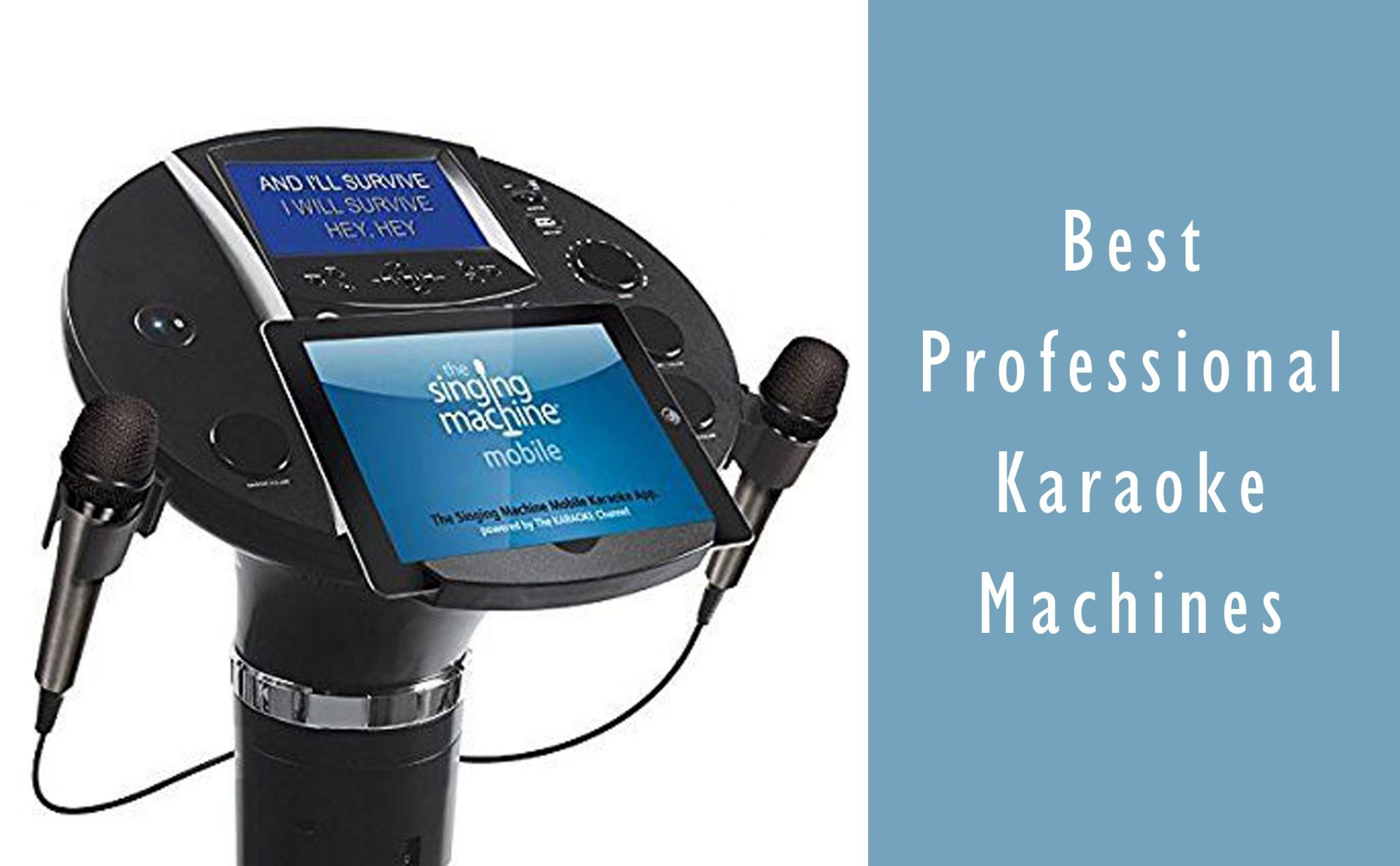 5 Best Professional Karaoke Machines 2019 (Buyer's Guide ...