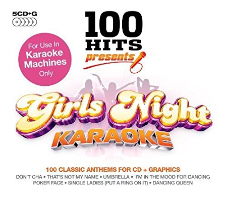 100 Hits Presents: Karaoke Girls Night Box set