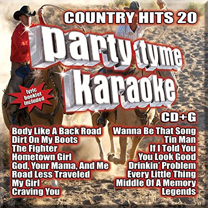 Party Tyme Country Hits 20 16-song G