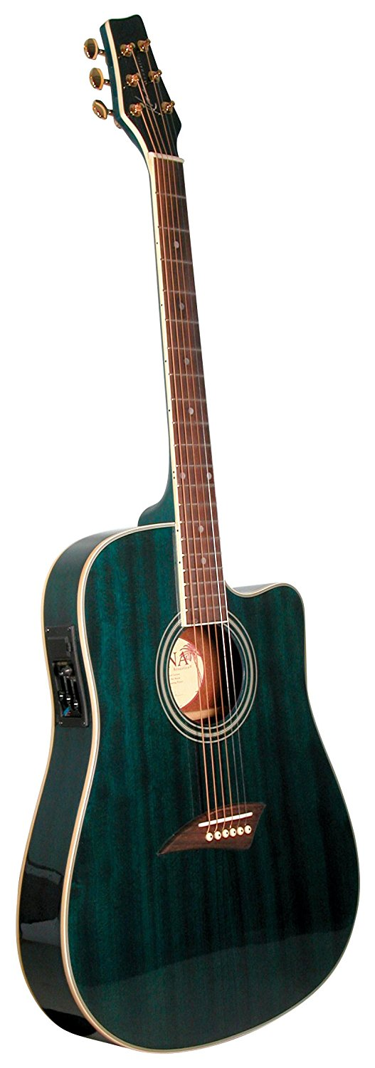 Kona acoustic-electric guitars