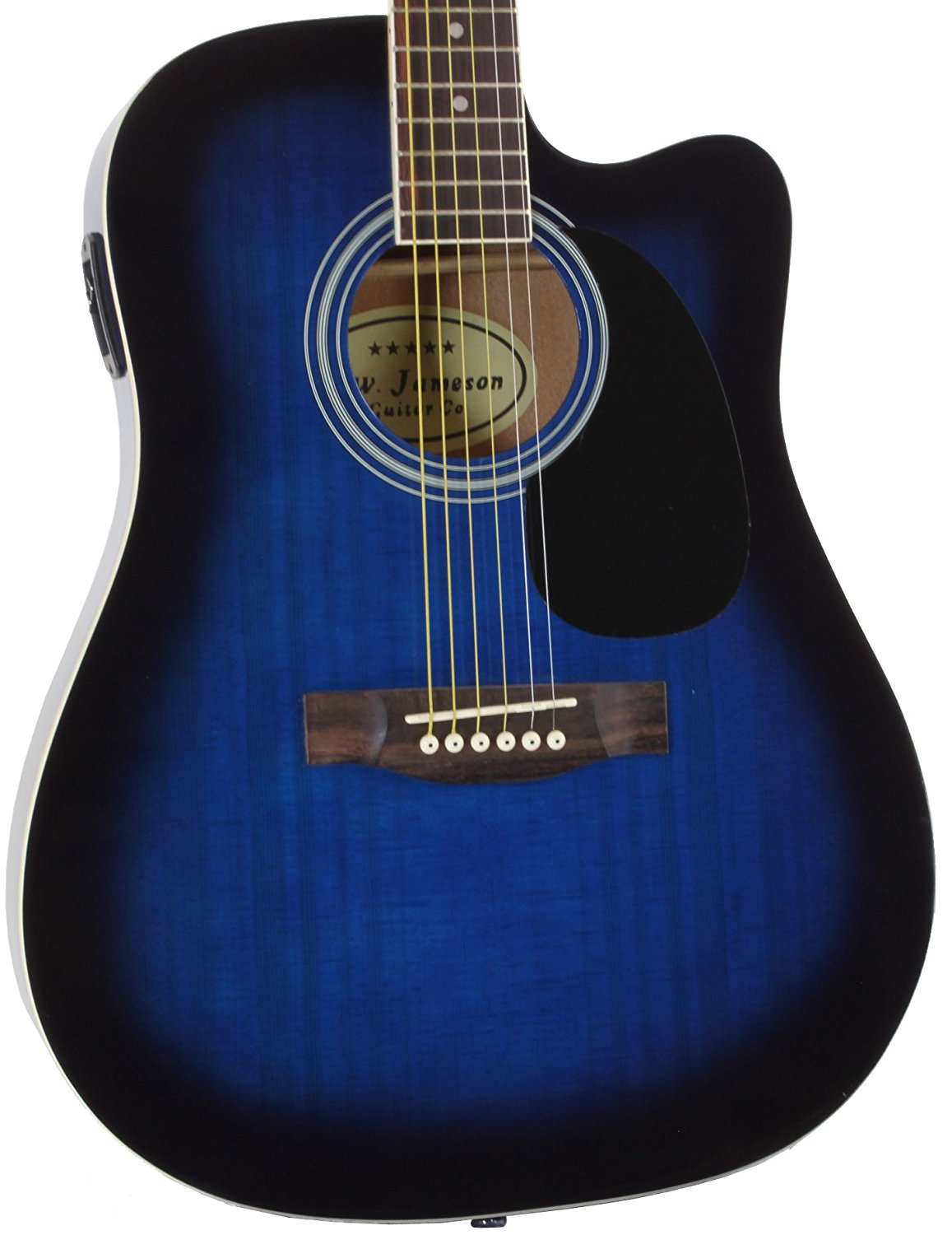 ​Jameson Guitars Thinline Acoustic-Electric Guitar