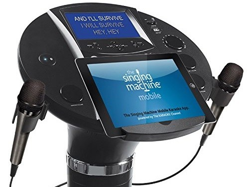 Singing Machine iSM1030BT Bluetooth Karaoke Pedestal Console