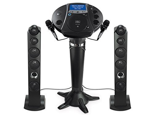 Singing Machine iSM1030BT Bluetooth Karaoke Pedestal