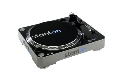Stanton T52B Straight Arm Belt-Drive Turntable with Pre-Mounted Cartridge