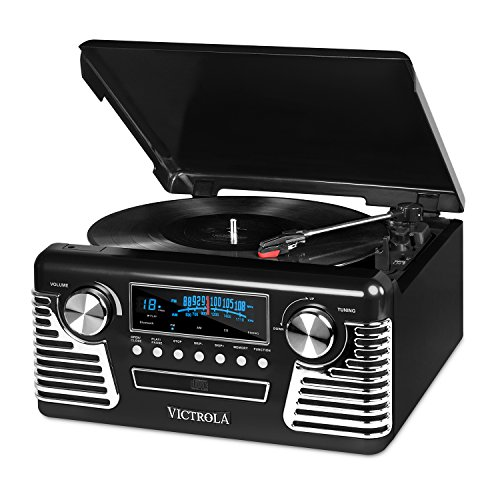 Victrola 50's Retro 3-Speed Bluetooth Turntable