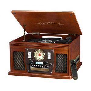 Victrola Nostalgic Aviator Wood 8-in-1