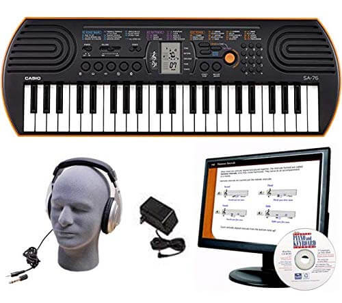 Casio SA76 EDP Best Beginner Keyboard for Child