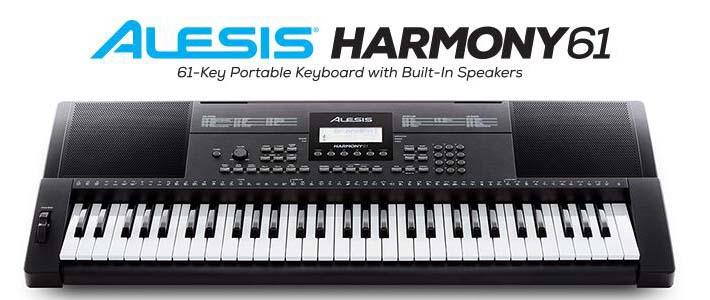 Alesis Harmony 61 Portable Keyboard