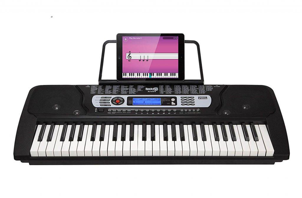 RockJam 54-Key Beginner Digital Keyboard