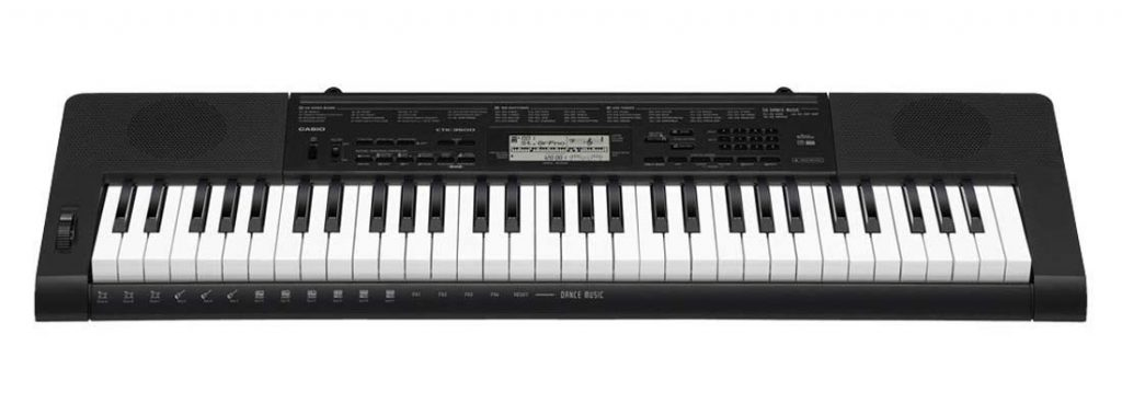 Casio CTK-3500 Portable digital piano keyboard