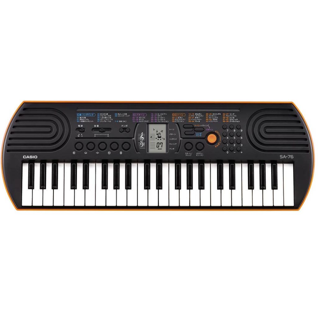 Casio SA76 Best Piano Keyboard for Beginners