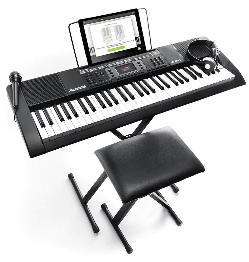 Alesis Melody 61 MKII Piano Keyboard under 500