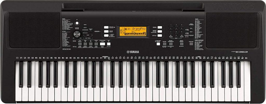 Yamaha PSR-E-363 best digital piano under 500