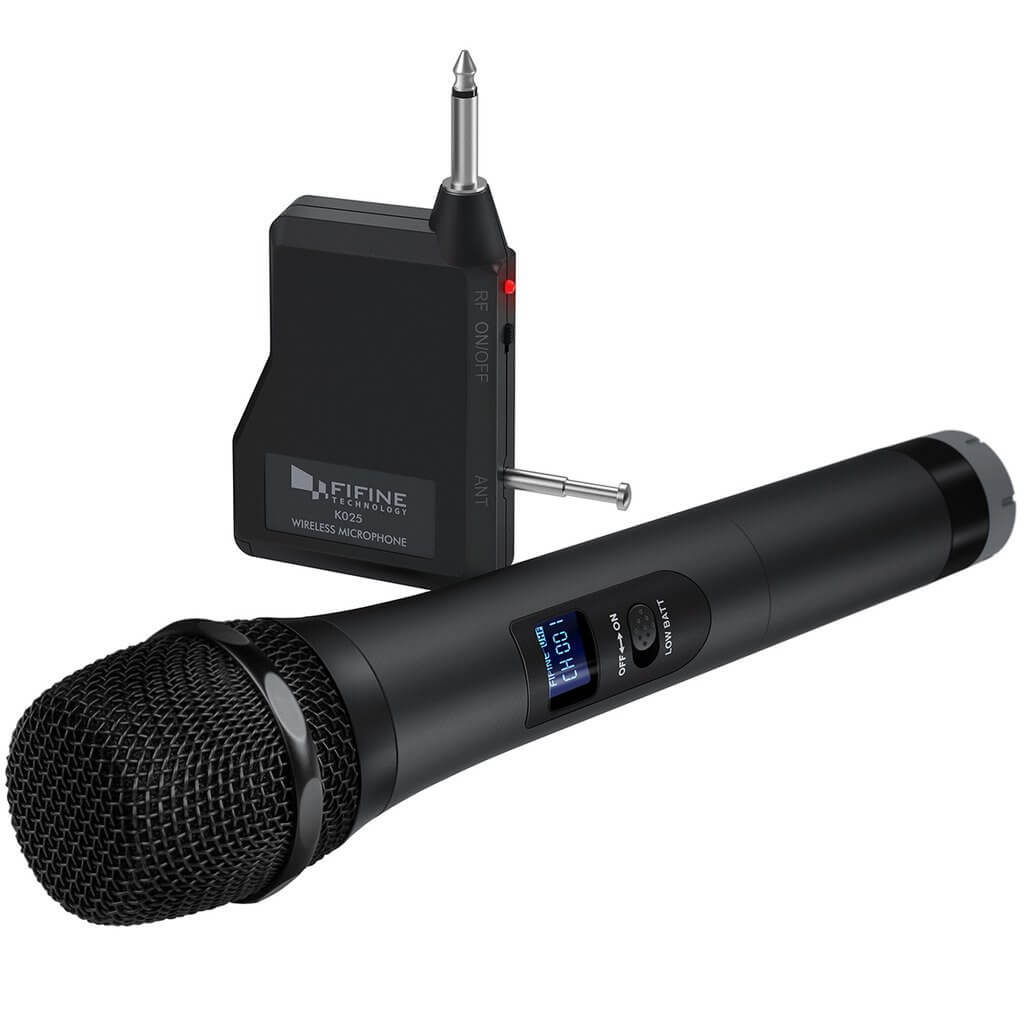 FIFINE Microphone K025 Handheld Wireless System