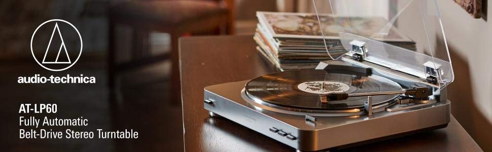 Audio-Technica AT-LP60BK