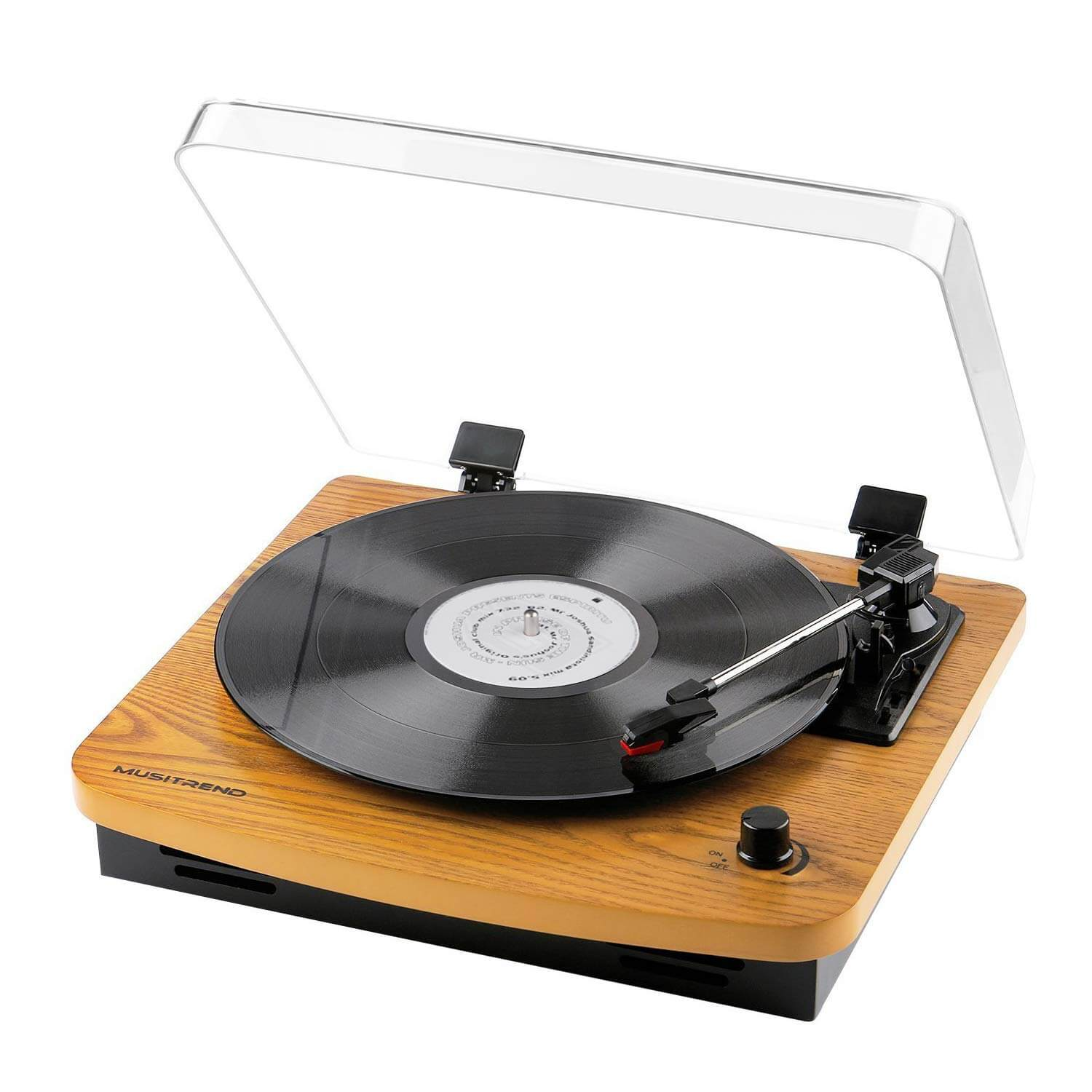 Musitrend Record Player Review   A simple & Elegant ...