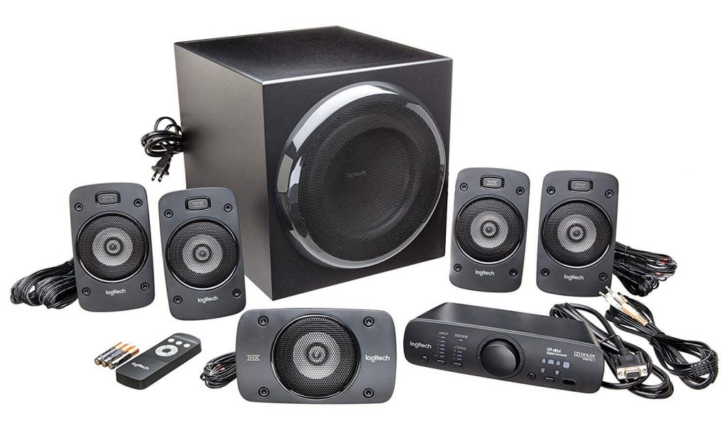 Logitech Z906 surround sound system