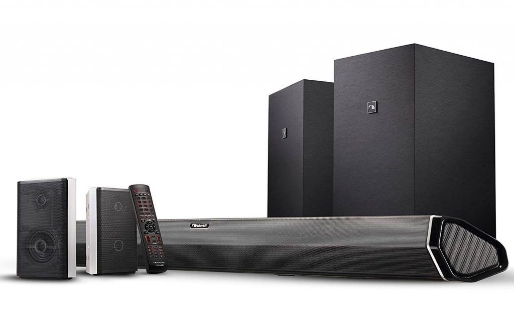Nakamichi Shockwafe Elite 7.2Ch Sound Bar System