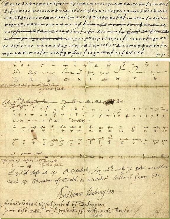Babington postscript - Cryptography