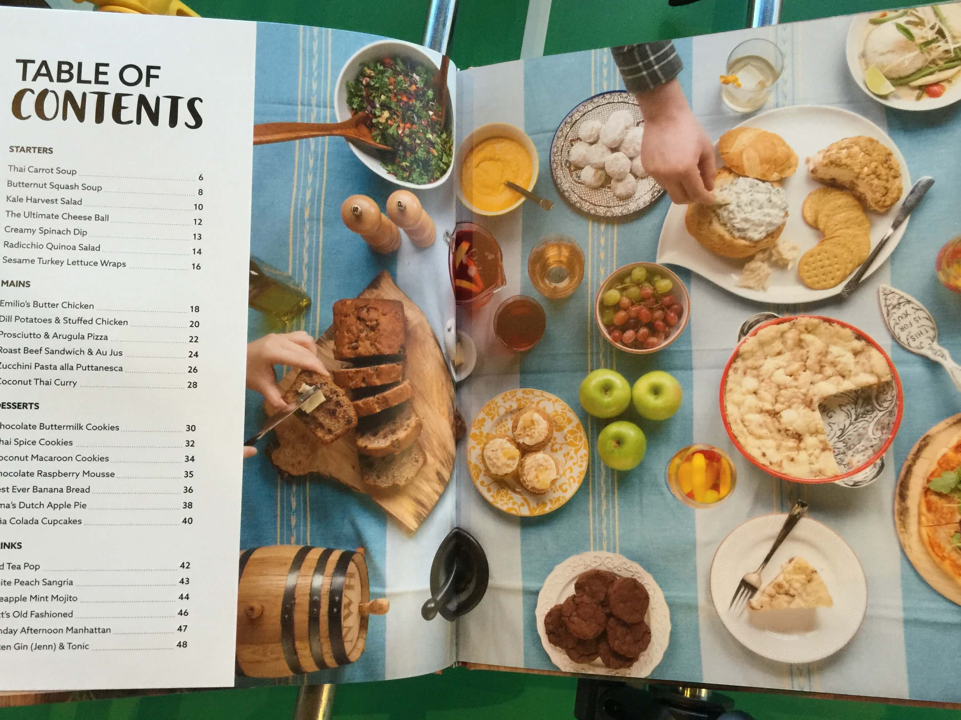 KEEN Cookbook Table of Contents