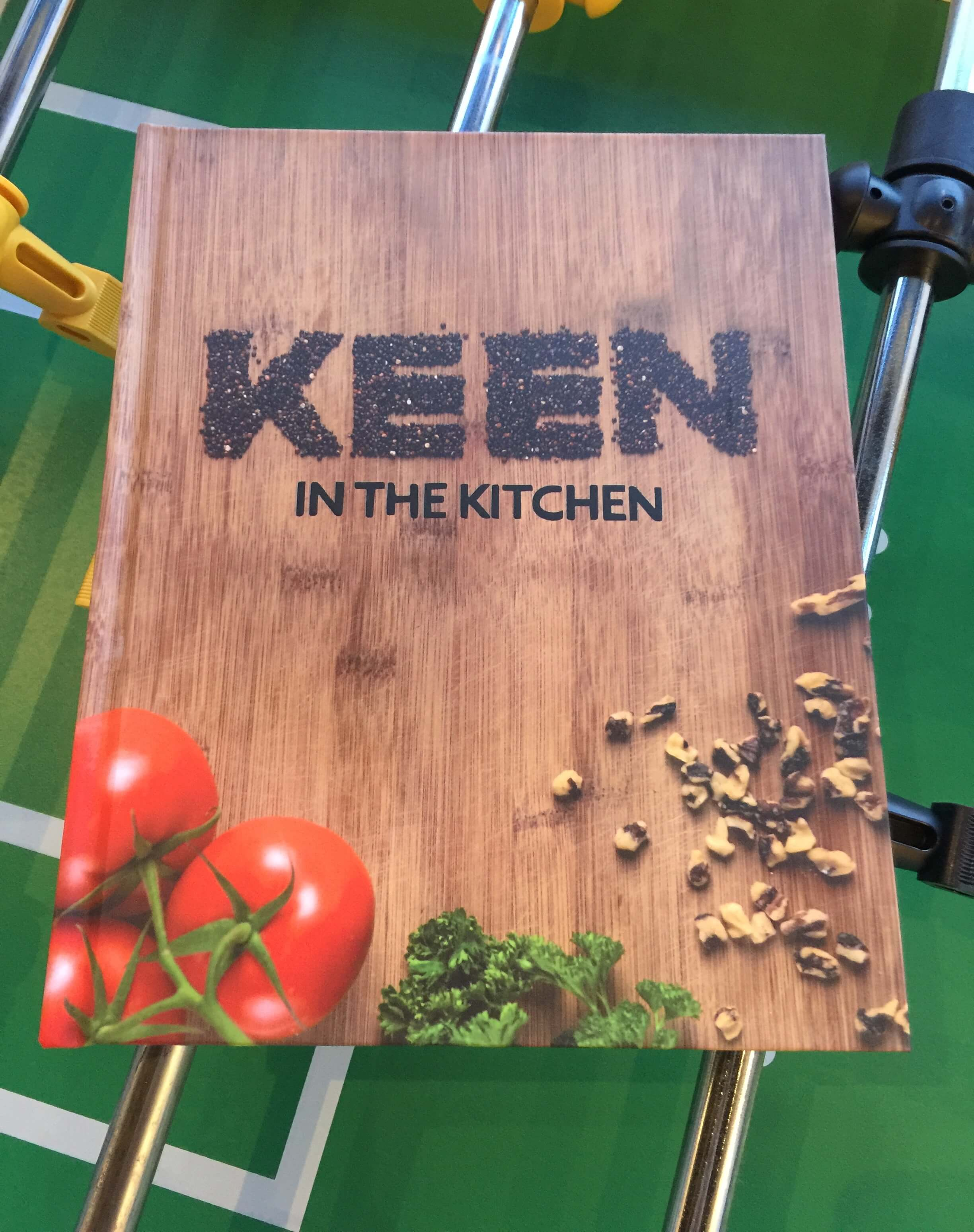 KEEN Cookbook cover