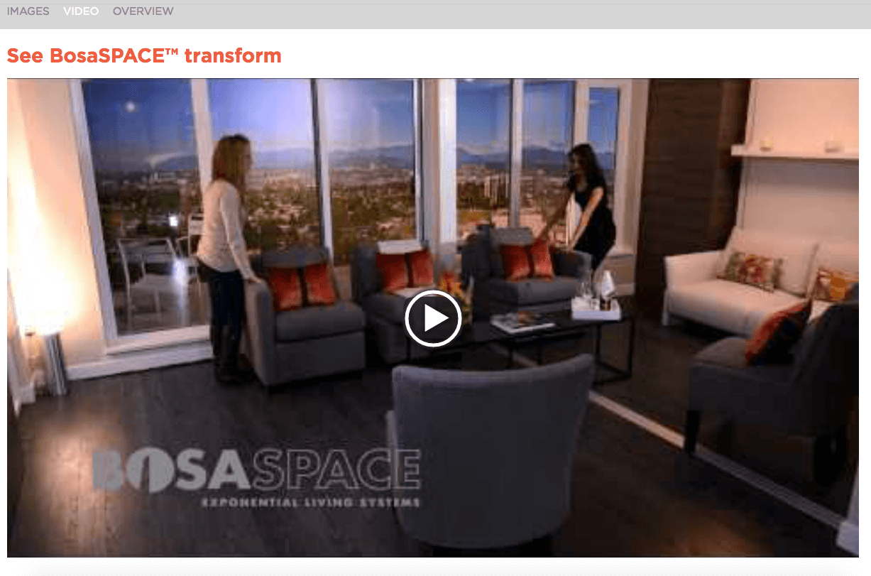 BosaSPACE web video