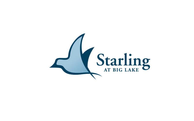 Starling at big lake logo