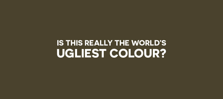 Is this really the world's ugliest colour?
