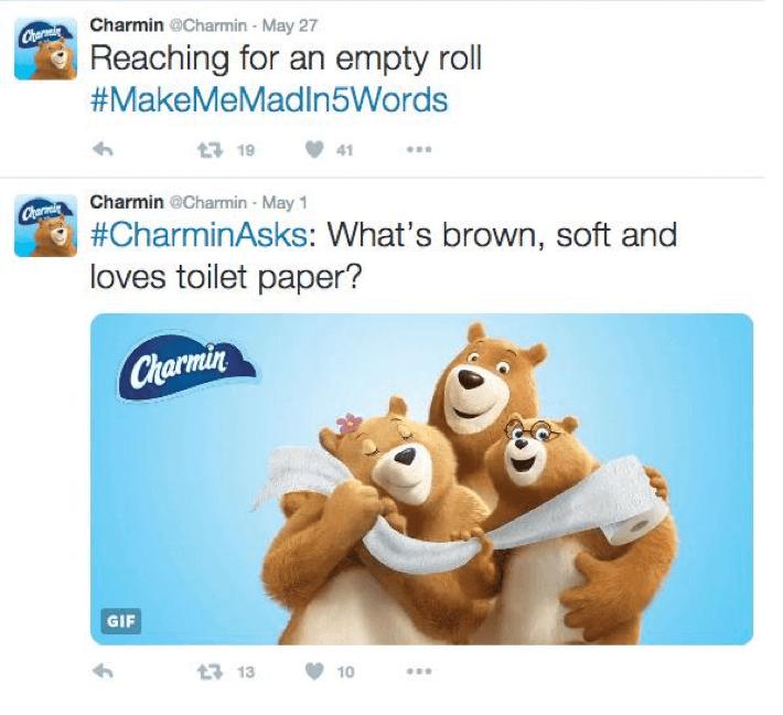 Brand story charmin