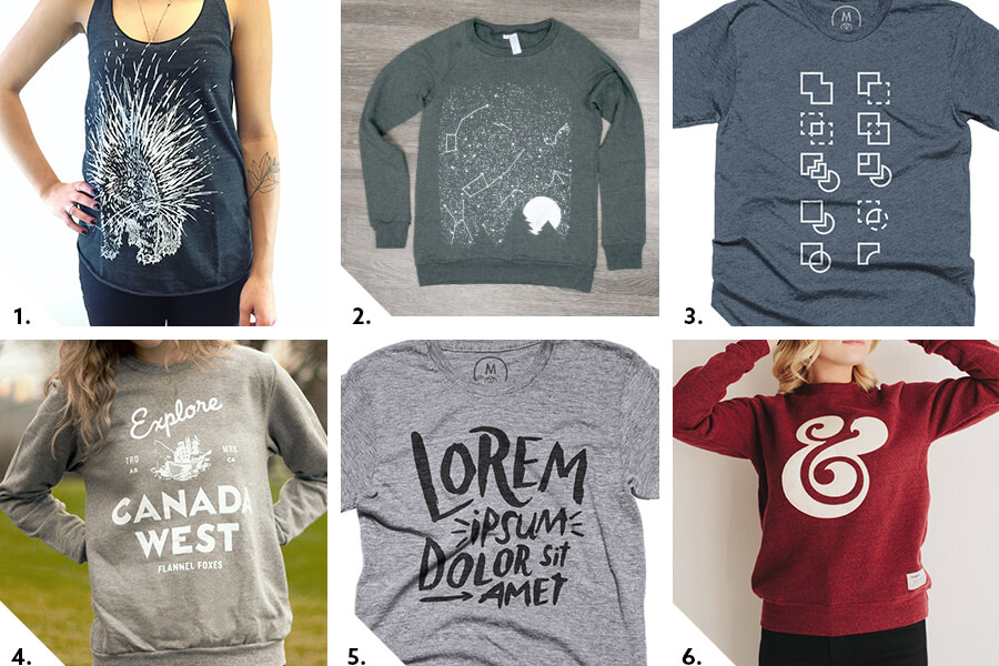 clothing gift guide for designers