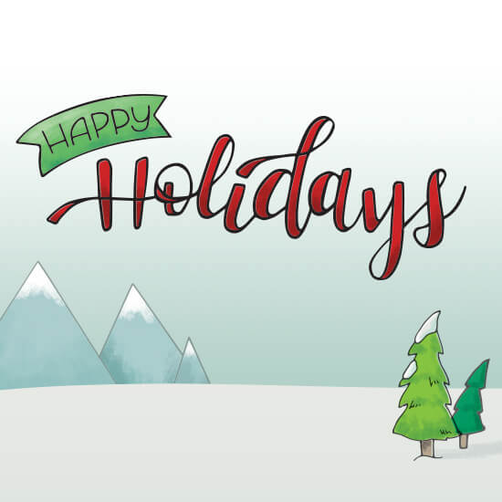 How we Made the KEEN Holiday Card