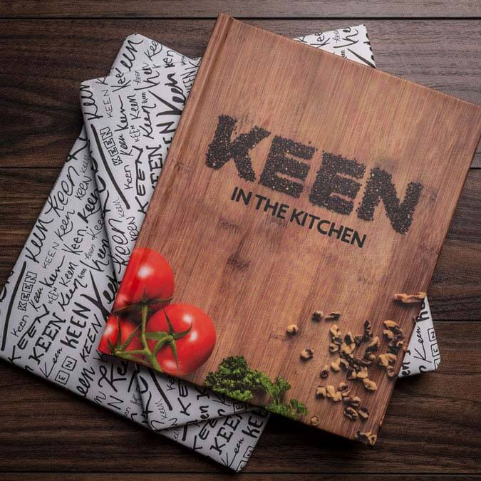 ACE Award of Distinction: KEEN in the Kitchen Cookbook