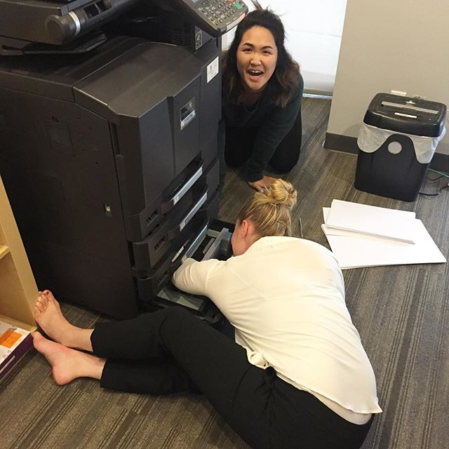 Printer jams are NOT our jam.