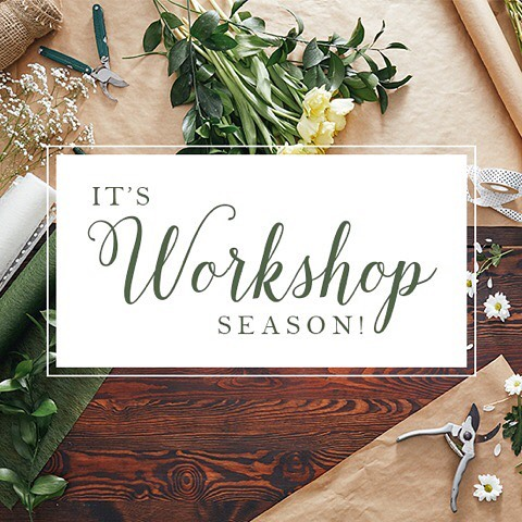 Prepare to get crafty and say fa-la-la-later to holiday stress with our list of 2017 Edmonton Workshops. Up on our blog now (️link in bio).