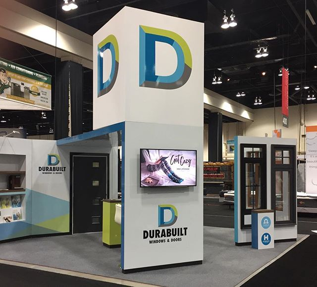 We worked with the fabulous @durabuiltwindows to design their new winter campaign and some tradeshow materials. Then our pals at @keenprints printed and wrapped 'em. Now that's what we call teamwork!