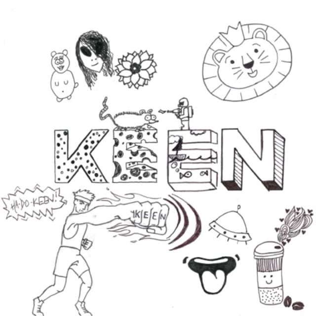 We think that we've about filled up this KEEN Doodle! What do you think of the final drawing?